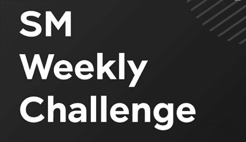 SM Weekly Challengeの詳細
