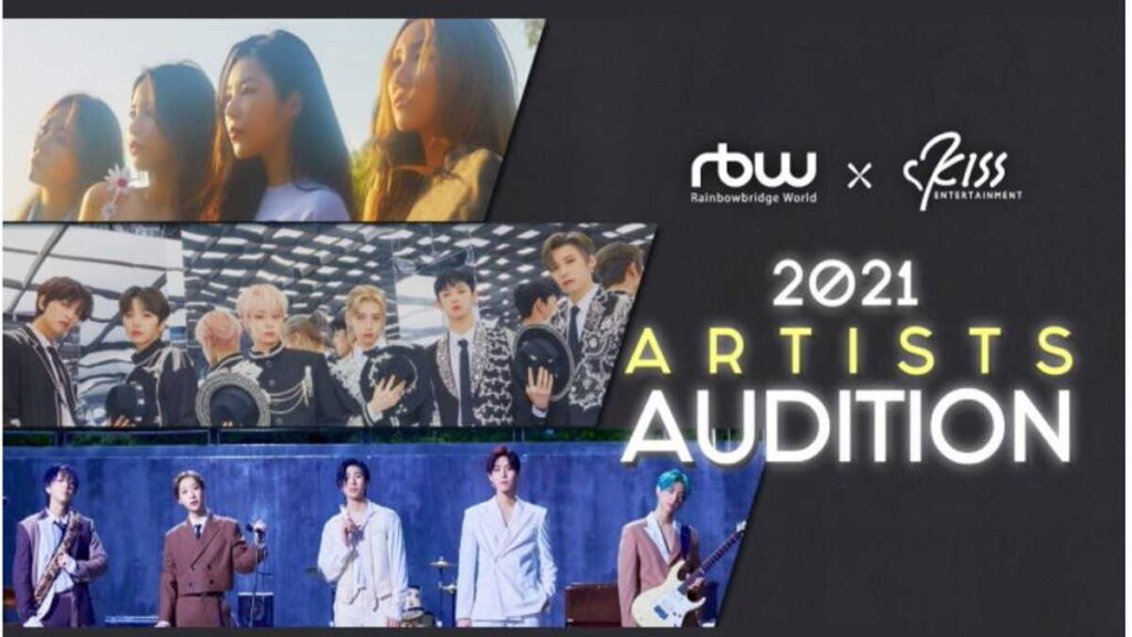 RBW x KISS Entertainment 2021 ARTISTS AUDITION
